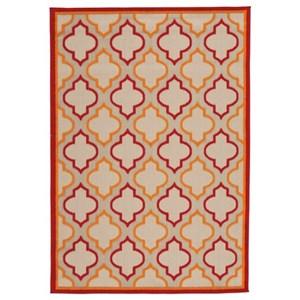 Jebediah Red/Orange Medium Rug