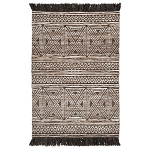 Kylin Taupe/Black Medium Rug