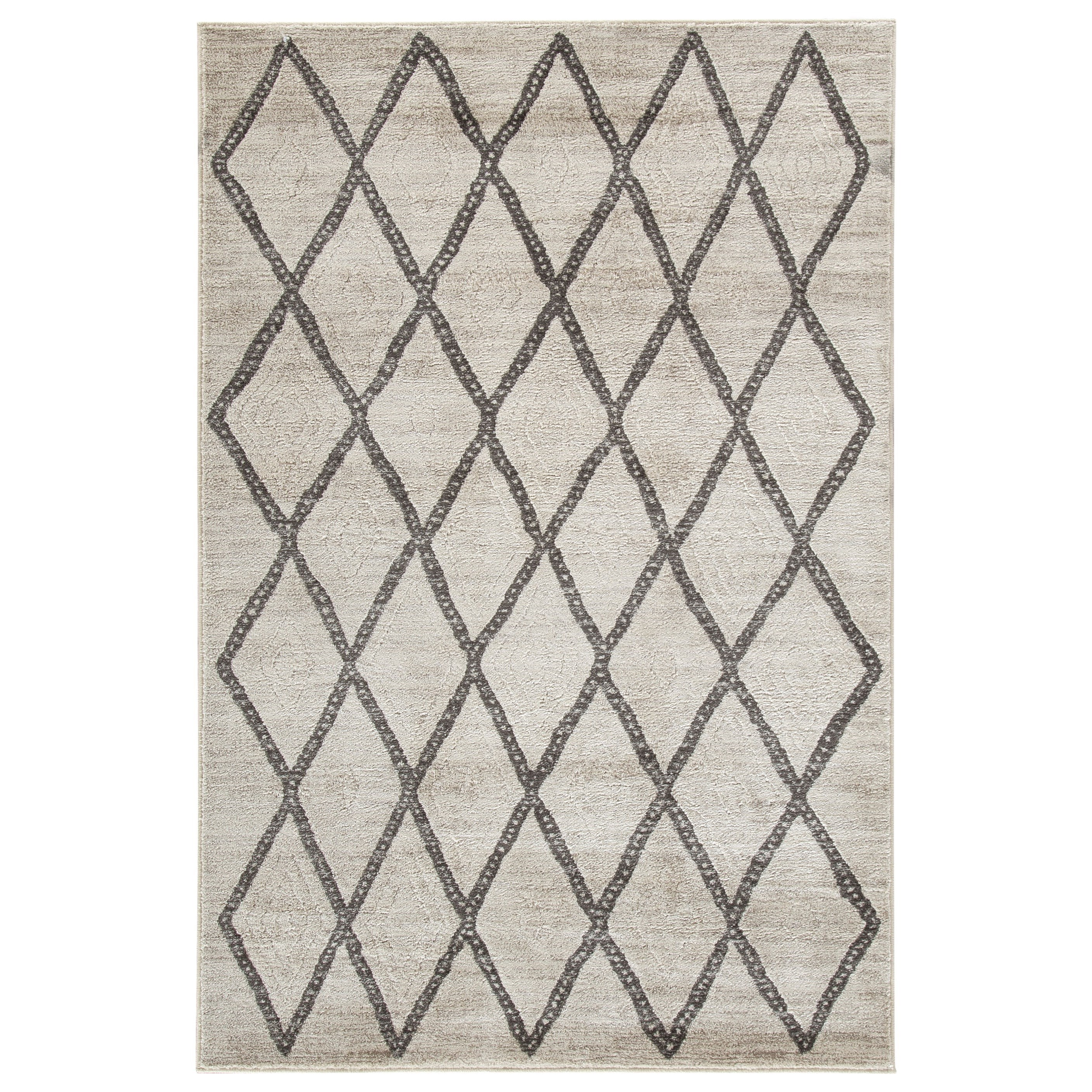 Casual Area Rugs Jarmo Gray/Taupe Medium Rug by Signature at Walker's Furniture