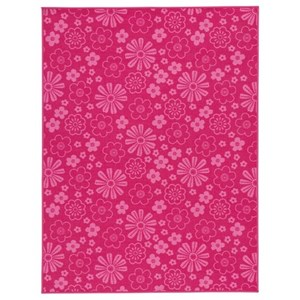 Jayleen Fuchsia Medium Rug