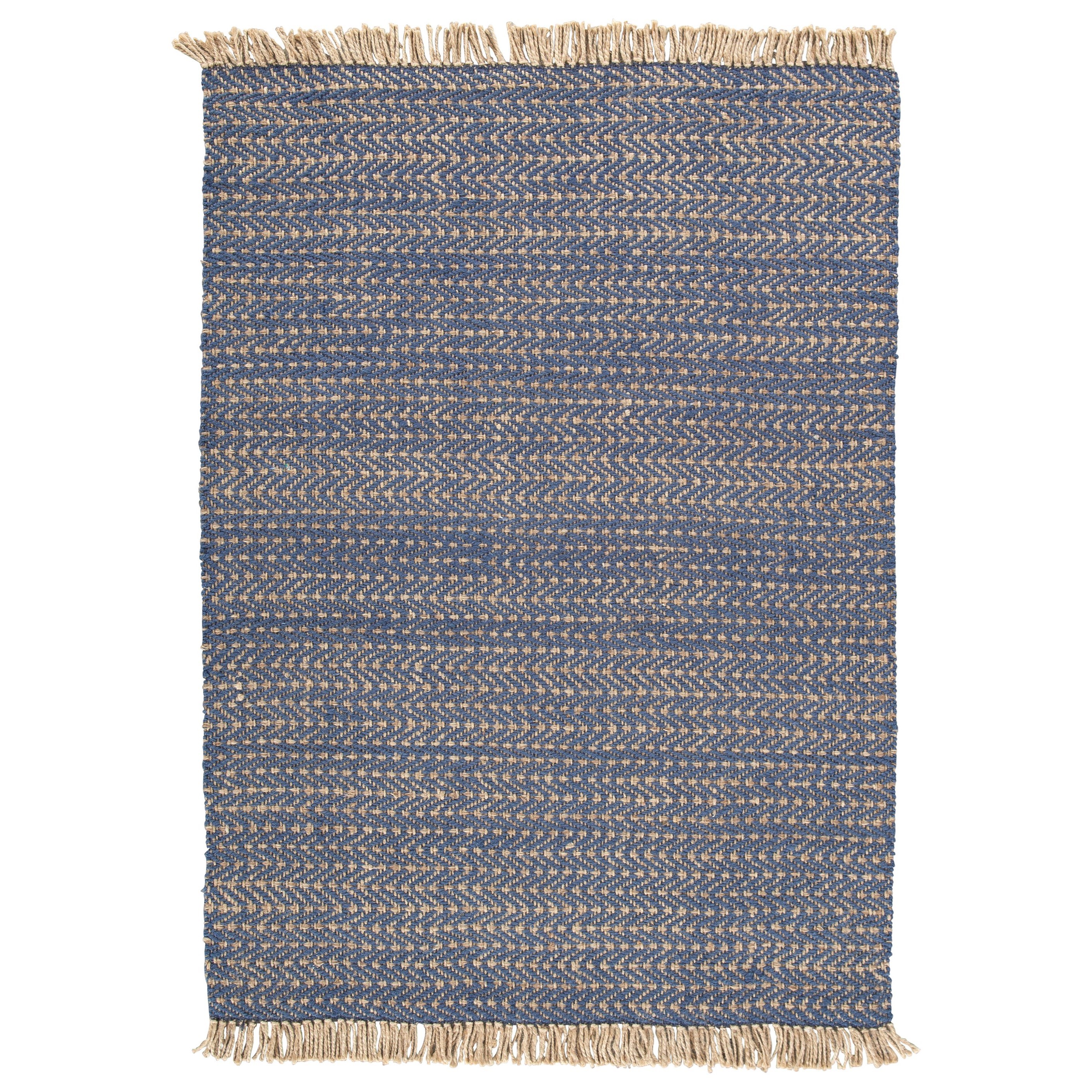 Casual Area Rugs Mavis Navy/Natural Medium Rug by Signature Design by Ashley at Coconis Furniture & Mattress 1st