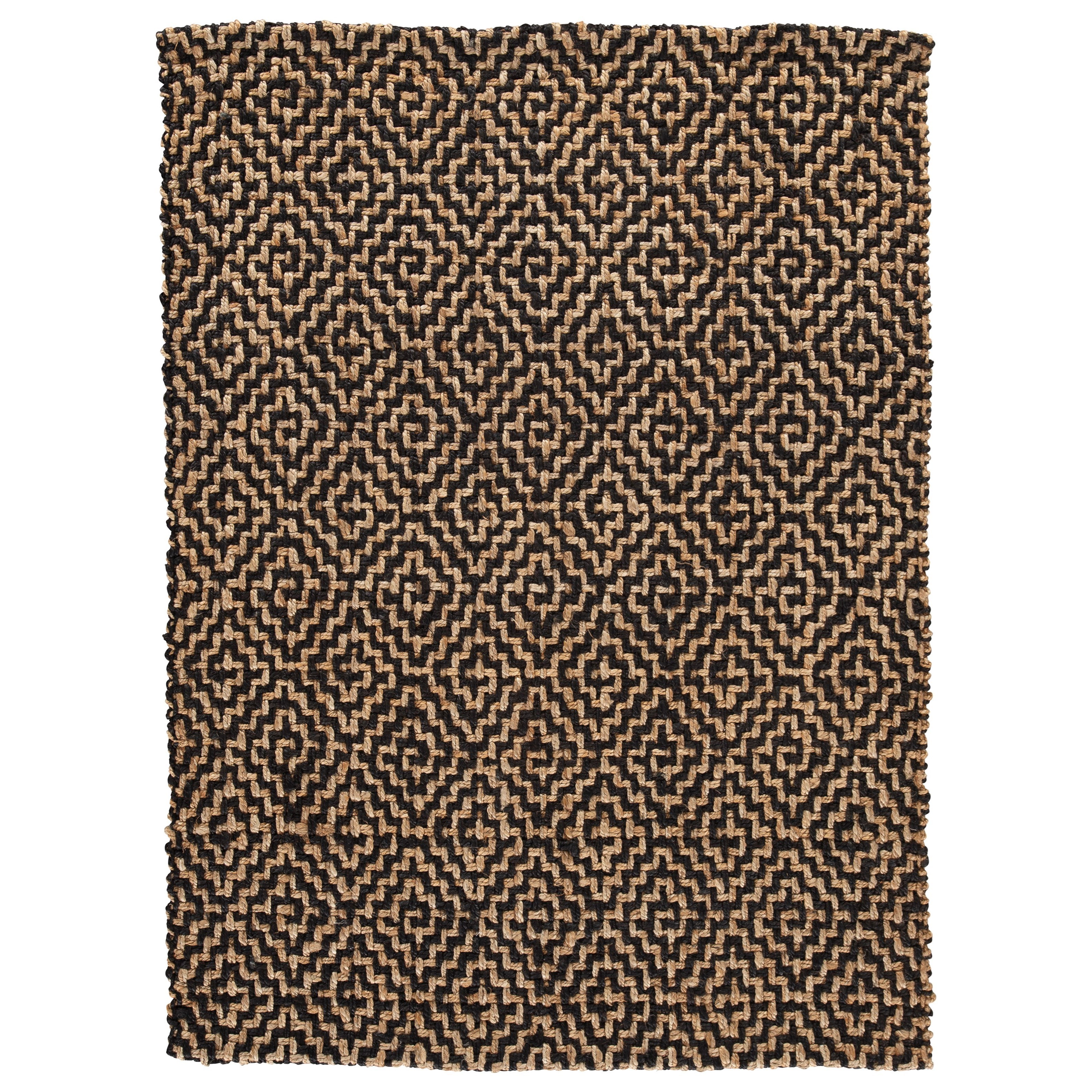 Casual Area Rugs Broox Natural/Black Medium Rug by Signature at Walker's Furniture