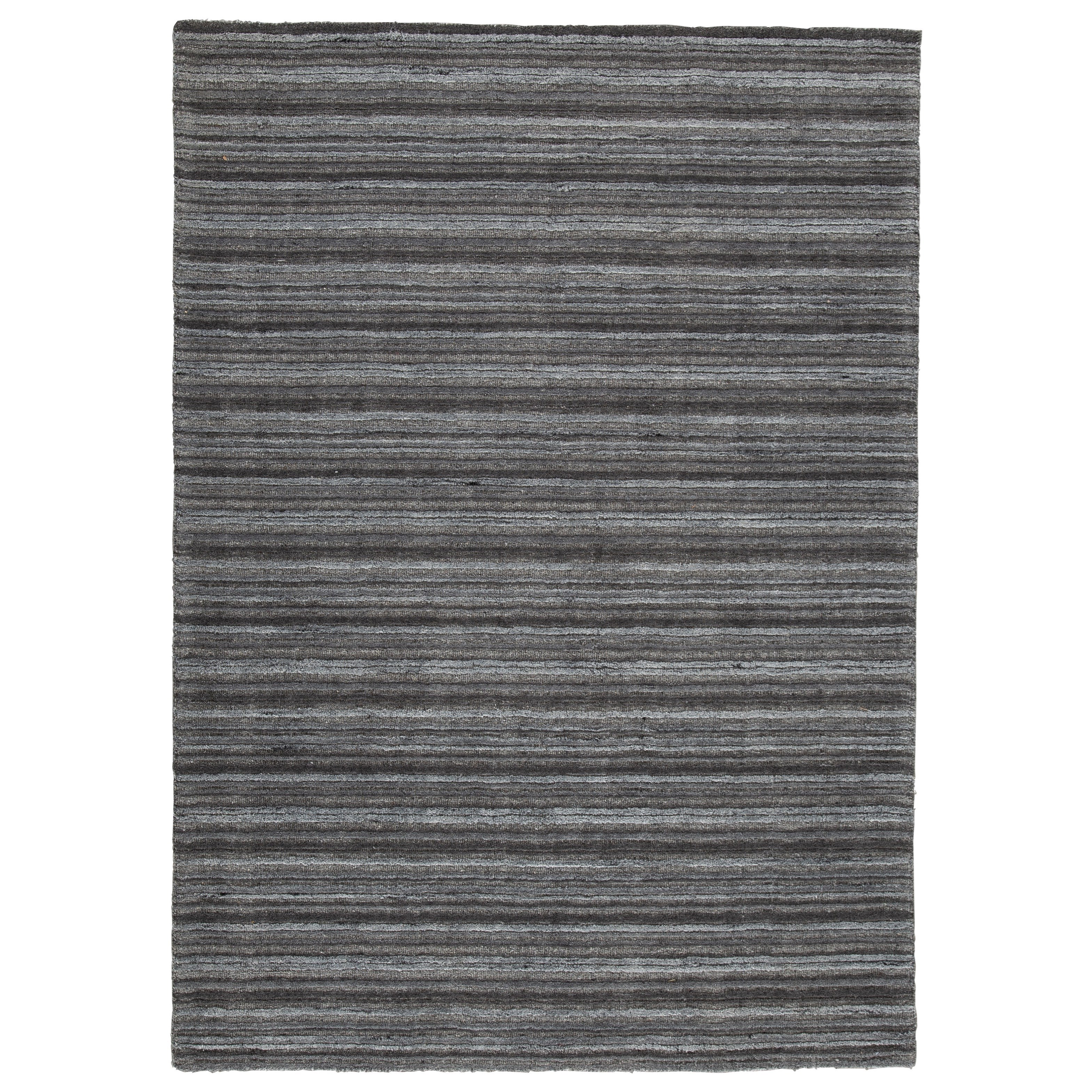 Casual Area Rugs Kellsey Black/Charcoal Large Rug by Signature Design by Ashley at Northeast Factory Direct