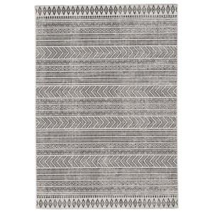 Brinoy Black/White Indoor/Outdoor Large Rug
