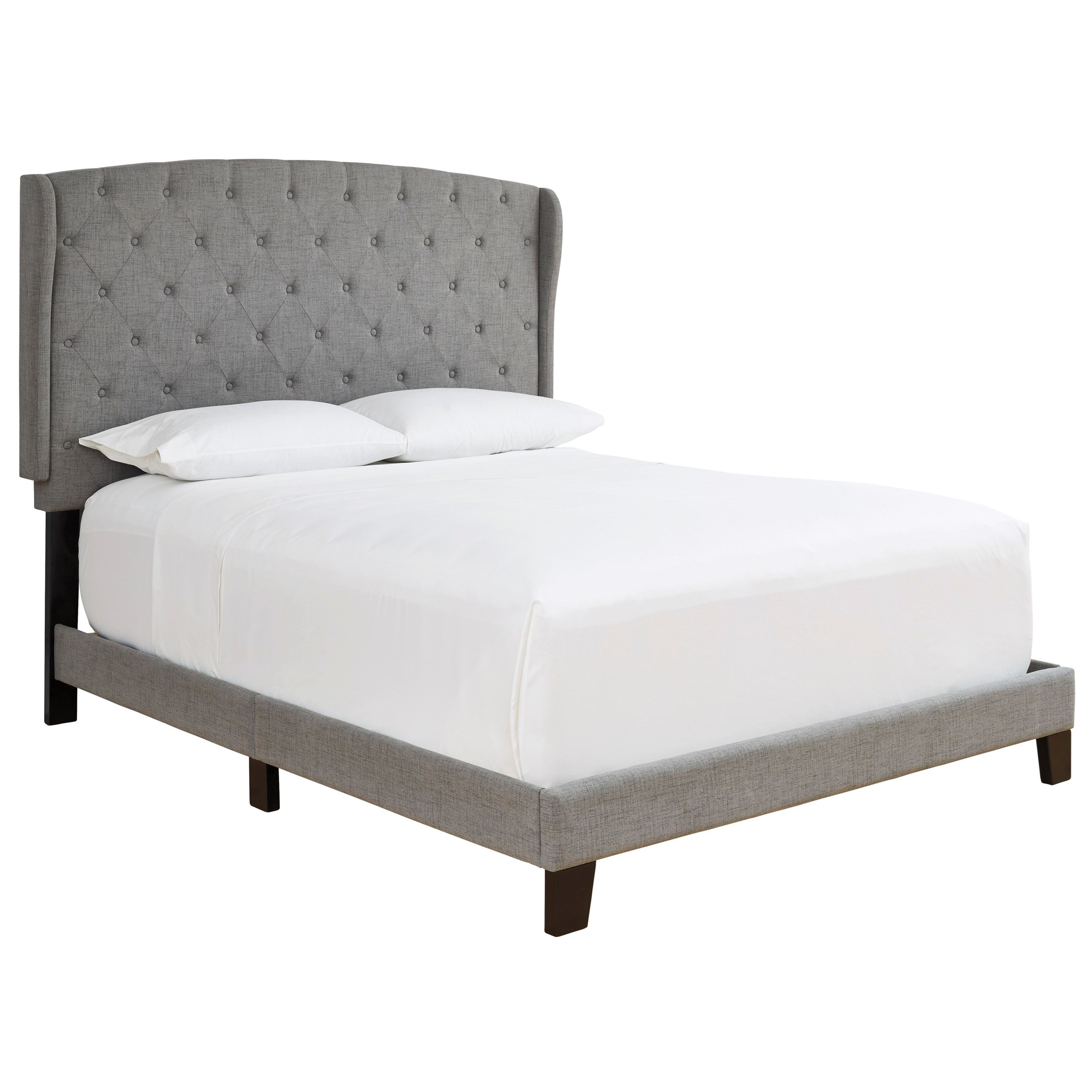Vintasso Queen Upholstered Bed by Ashley (Signature Design) at Johnny Janosik