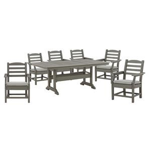 "42"" x 72"" Table and 6 Arm Chairs"