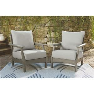 2 Lounge Chair With Cushion