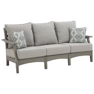 Sofa With 2 Toss Pillows