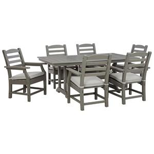 7-Piece Rectangular Table Set