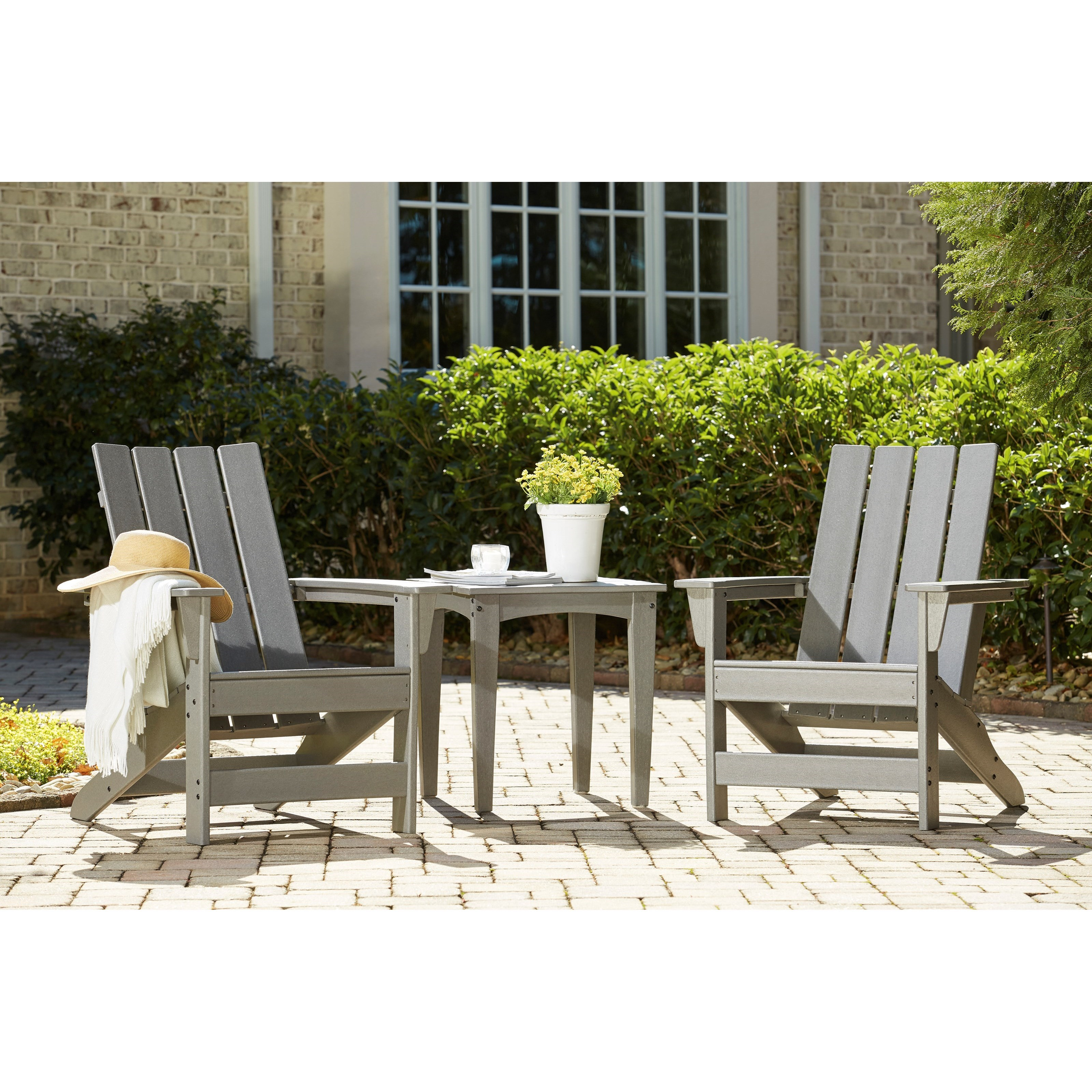 Visola 3-Piece Adirondack Chairs and Table Set by Signature Design by Ashley at Value City Furniture