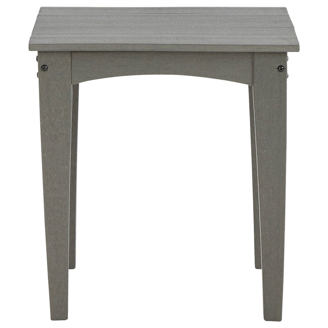 Visola Square End Table by Signature at Walker's Furniture