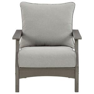 Set of 2 Lounge Chairs w/ Cushion