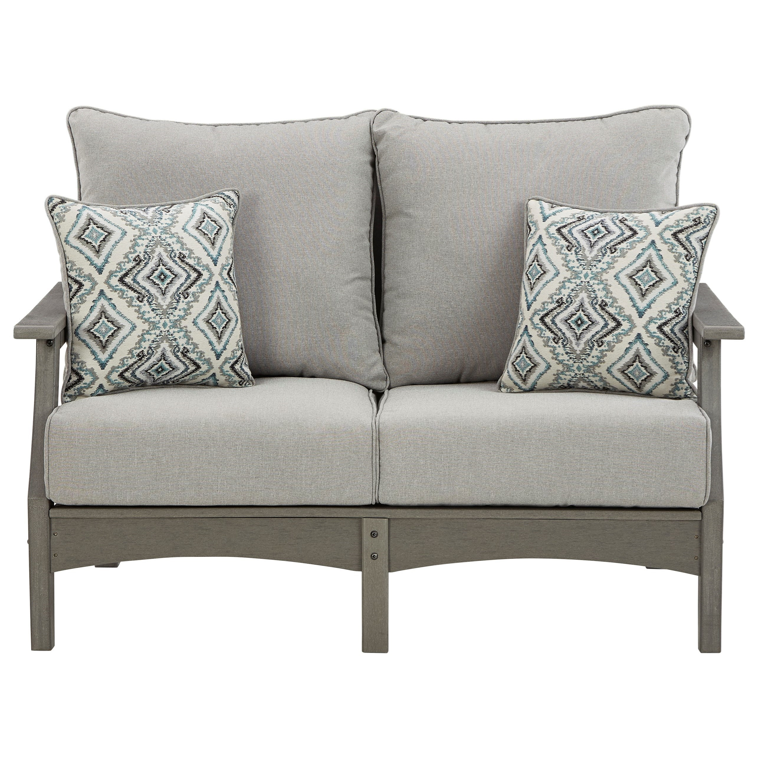 Visola Loveseat with Cushion by Signature at Walker's Furniture
