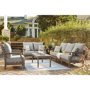Outdoor Sofa, Loveseat, Chairs, & Table Set