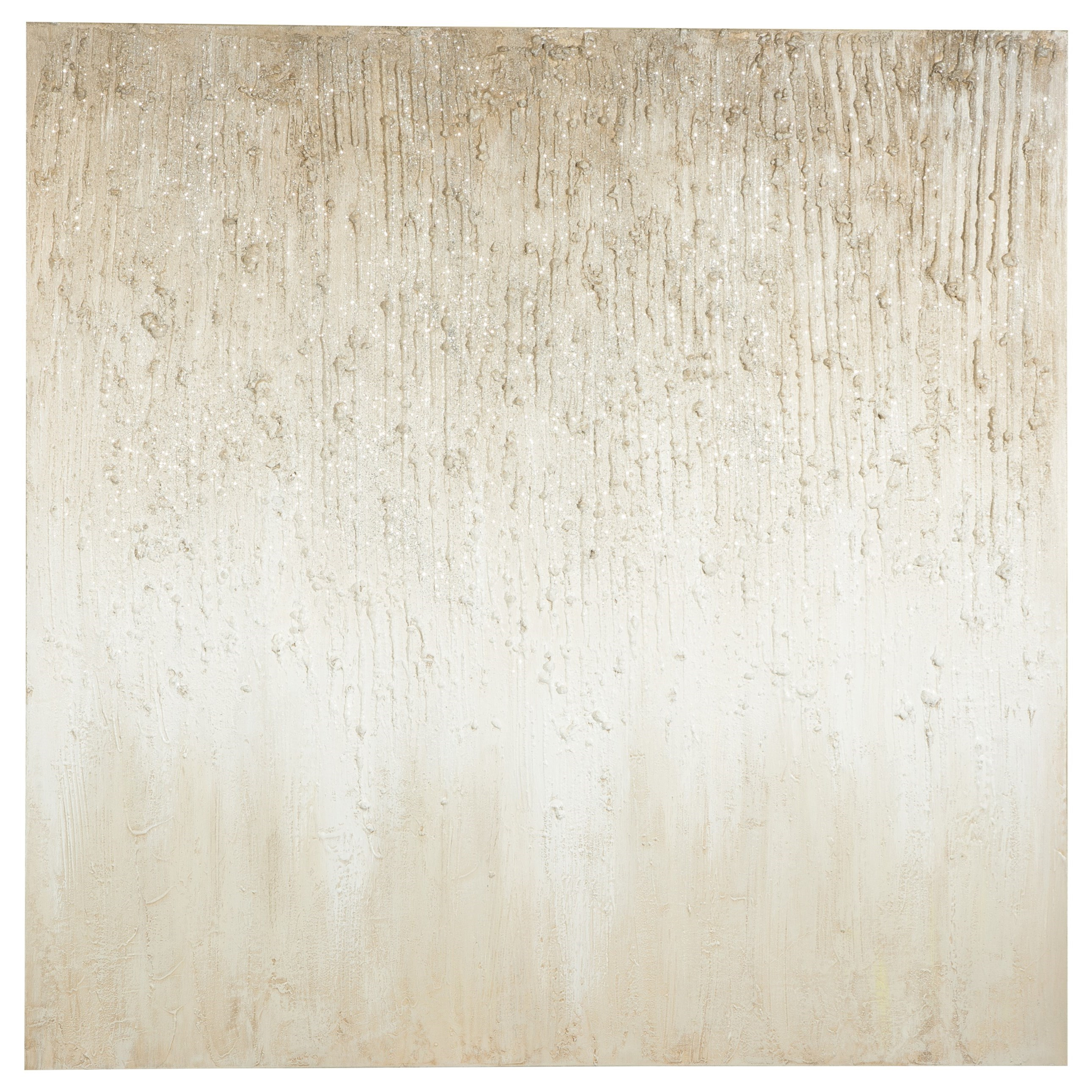 Wall Art Cristela Taupe Wall Art by Signature at Walker's Furniture