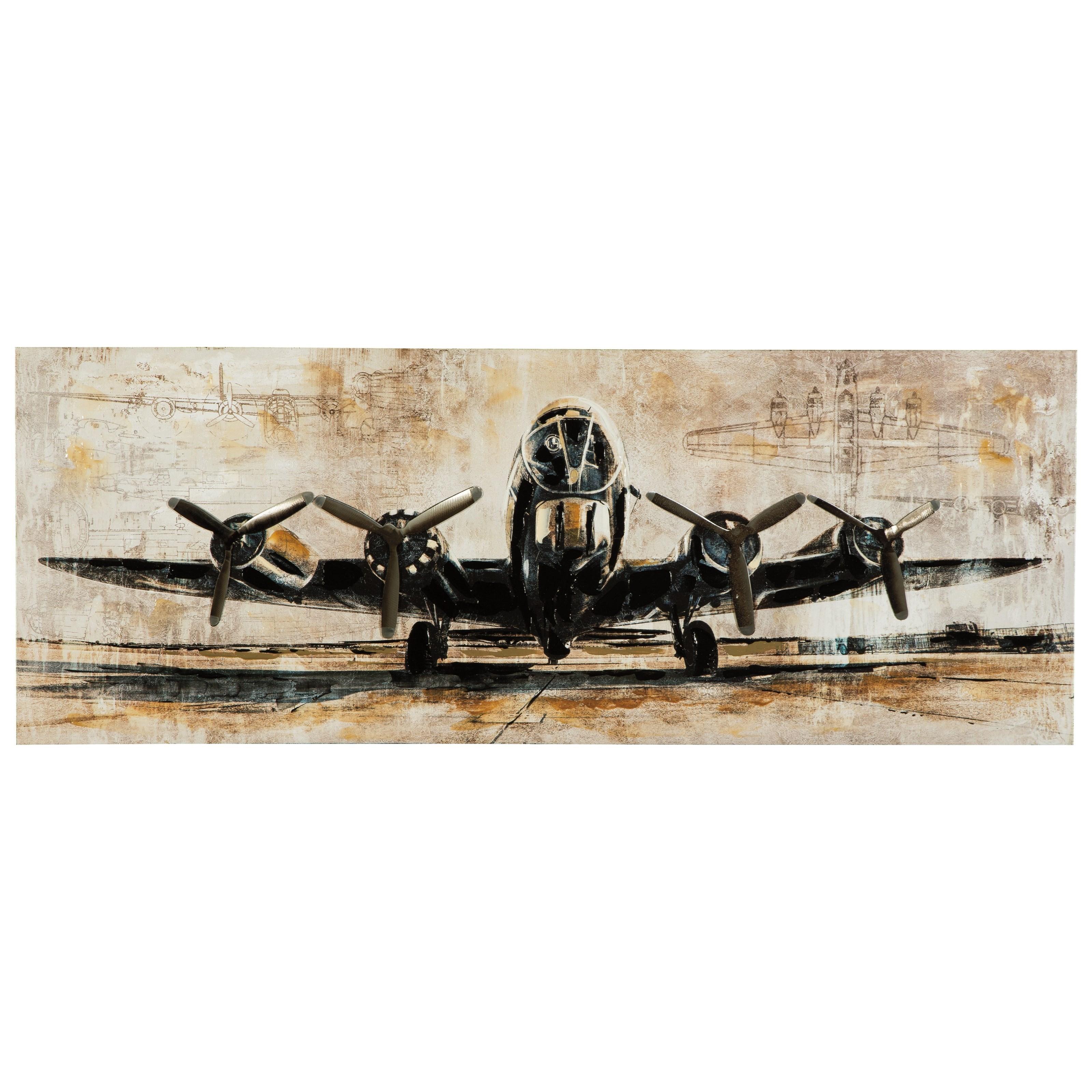 Wall Art Kalene Brown/Black Wall Art by Signature at Walker's Furniture