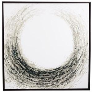Kerianne Black/Taupe/White Wall Art