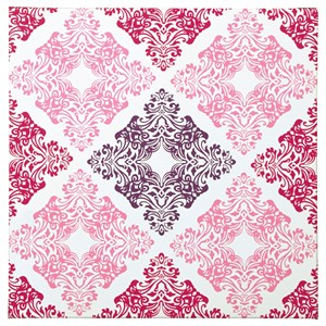 Signature Design by Ashley Wall Art Jadine White/Pink Wall Art