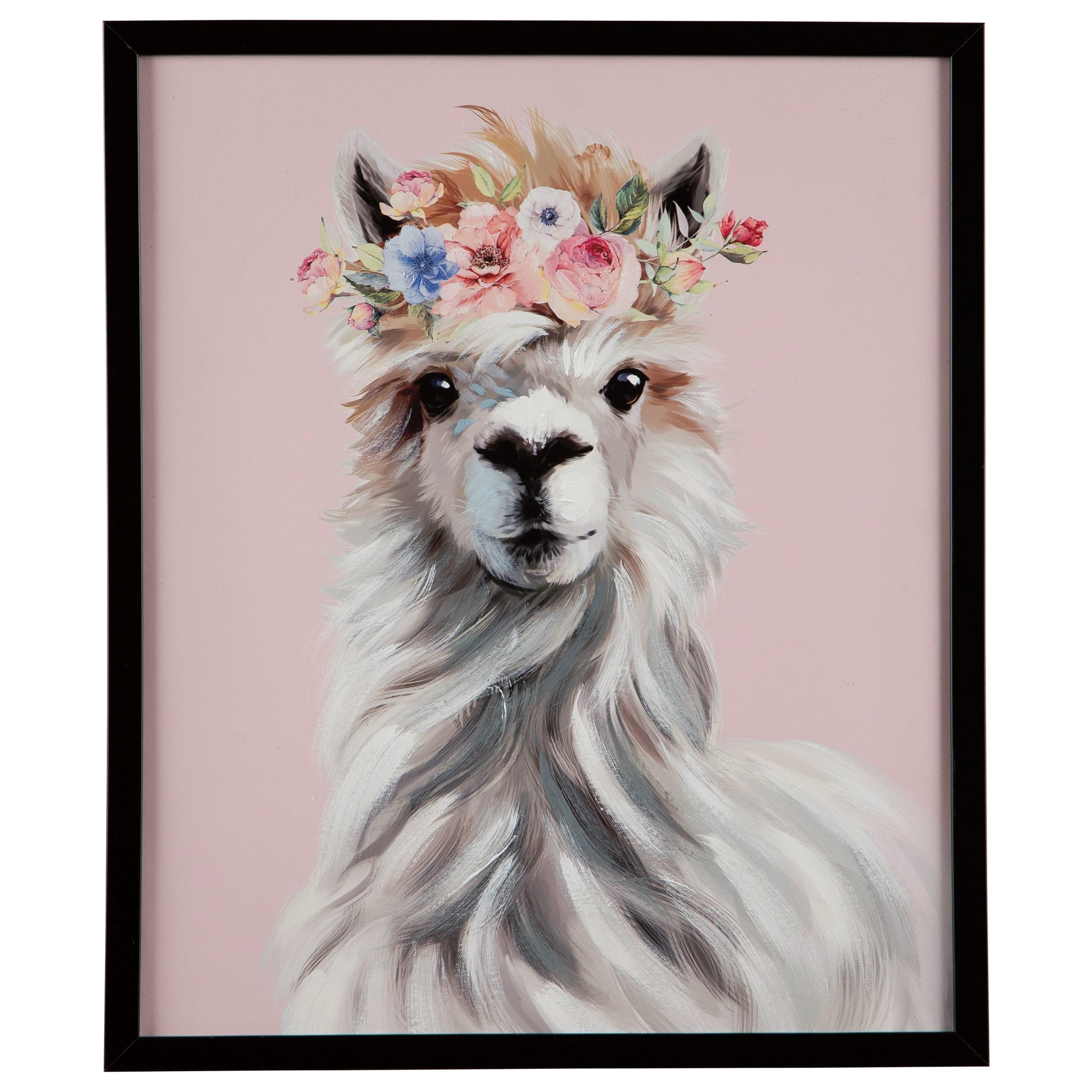 Wall Art Josie Pink/White/Gray Wall Art by Ashley (Signature Design) at Johnny Janosik