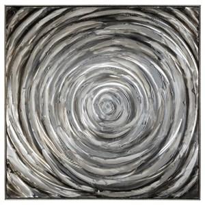 Adda Silver/Gray Wall Art