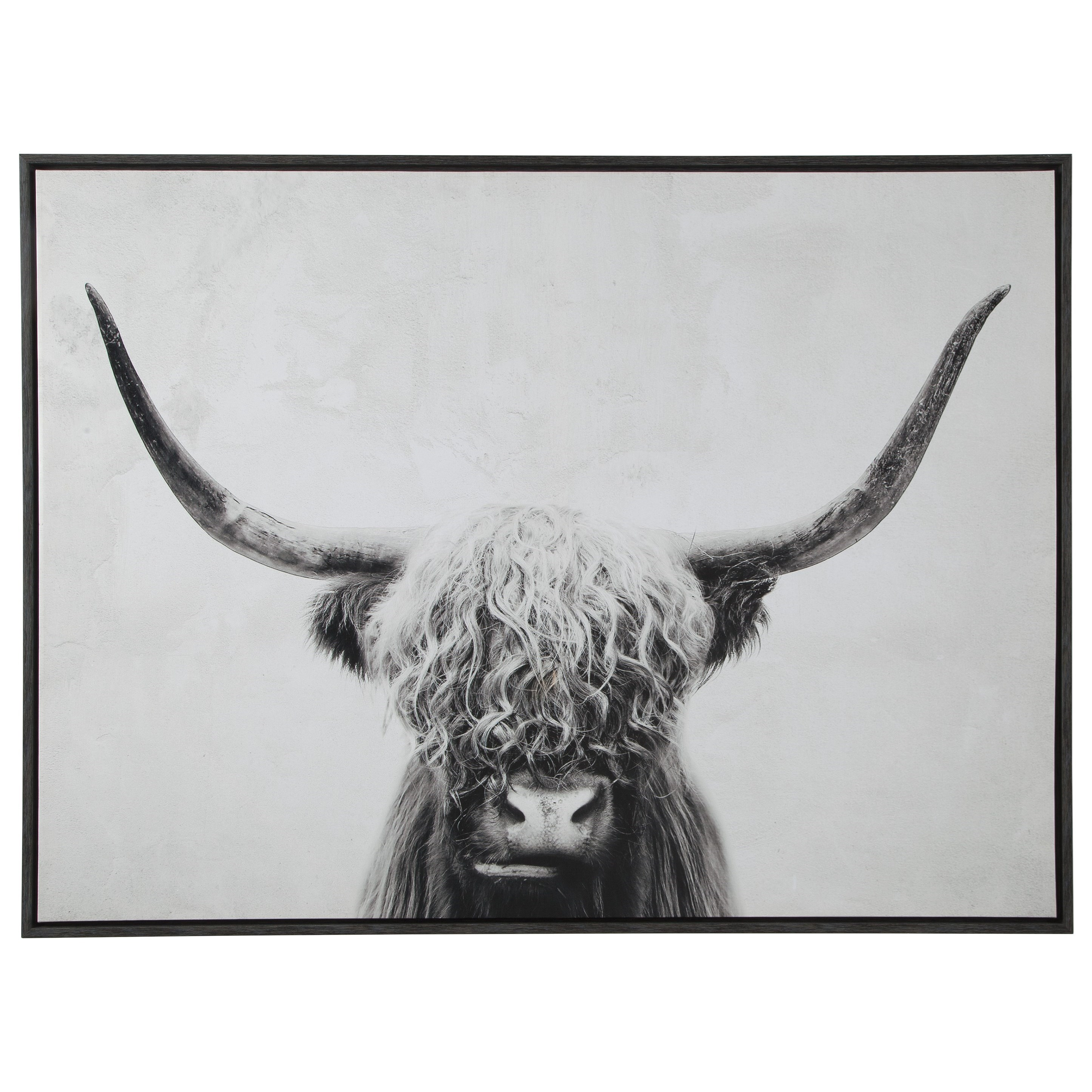 Wall Art Pancho Black/White Wall Art by Signature Design by Ashley at Factory Direct Furniture