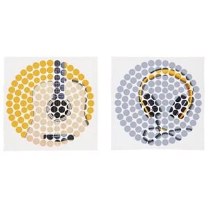 Peers Blue/Yellow Wall Art Set