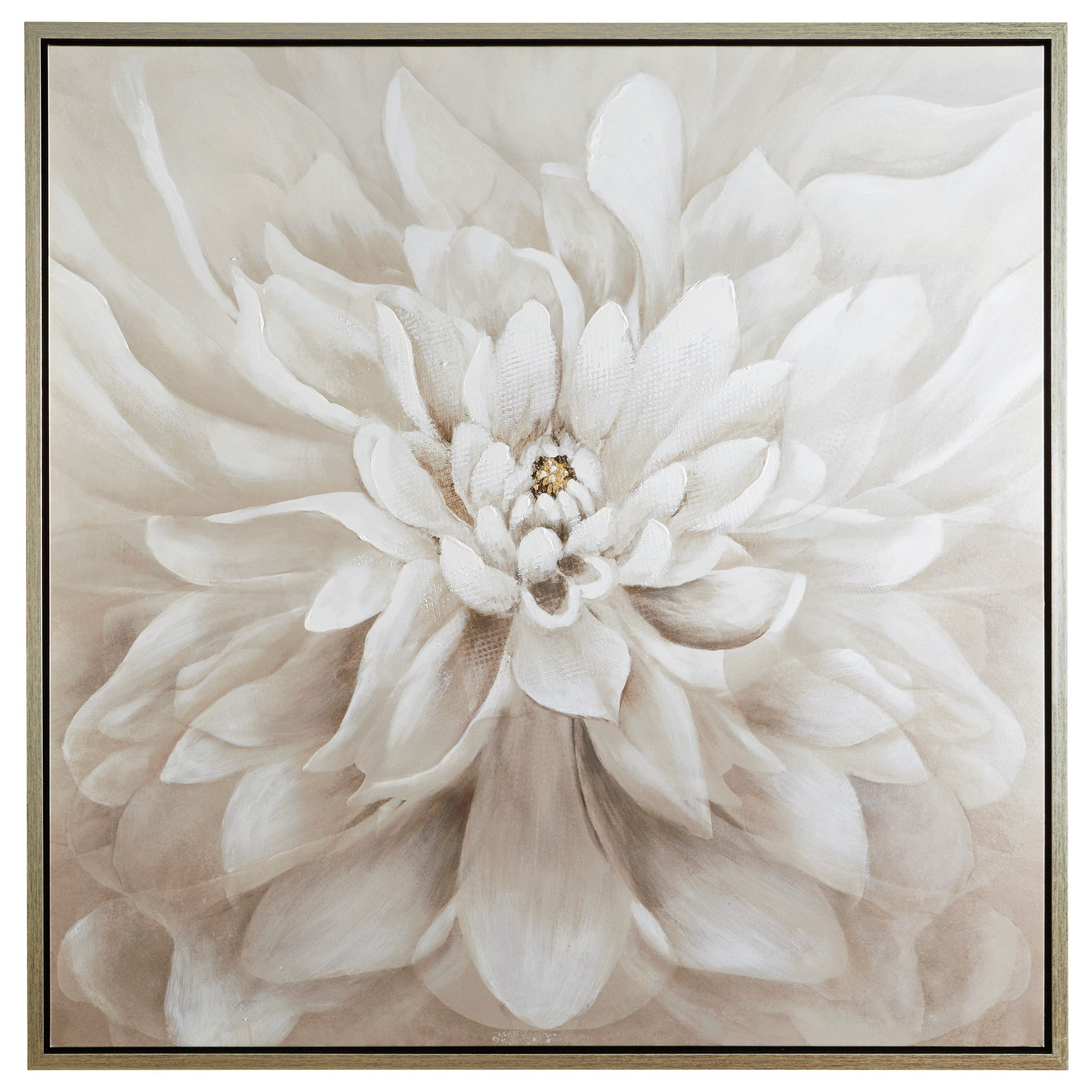 Wall Art Jalisa Taupe Wall Art by Signature at Walker's Furniture