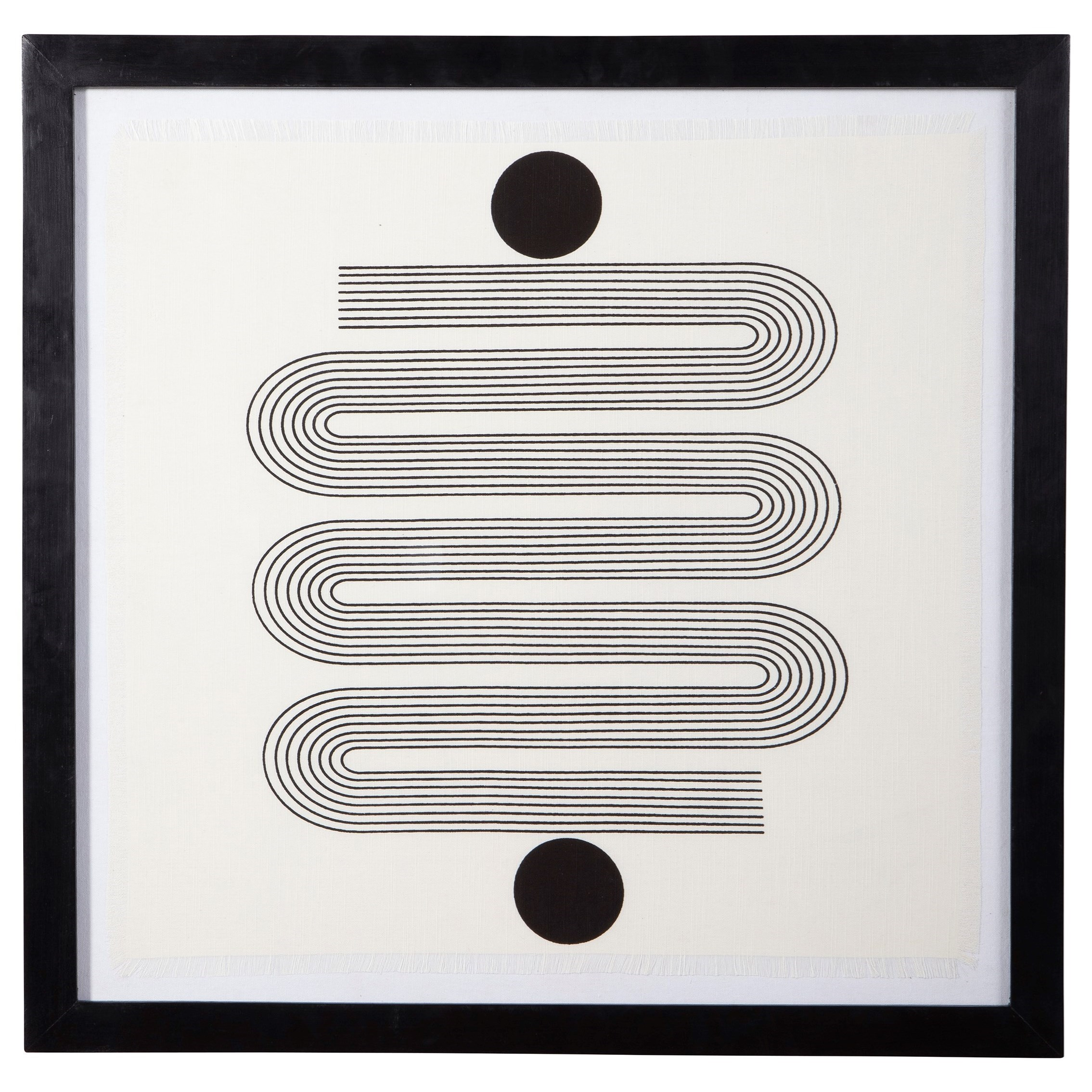 Wall Art Jaegar Black/White Wall Art by Signature Design by Ashley at Zak's Home Outlet