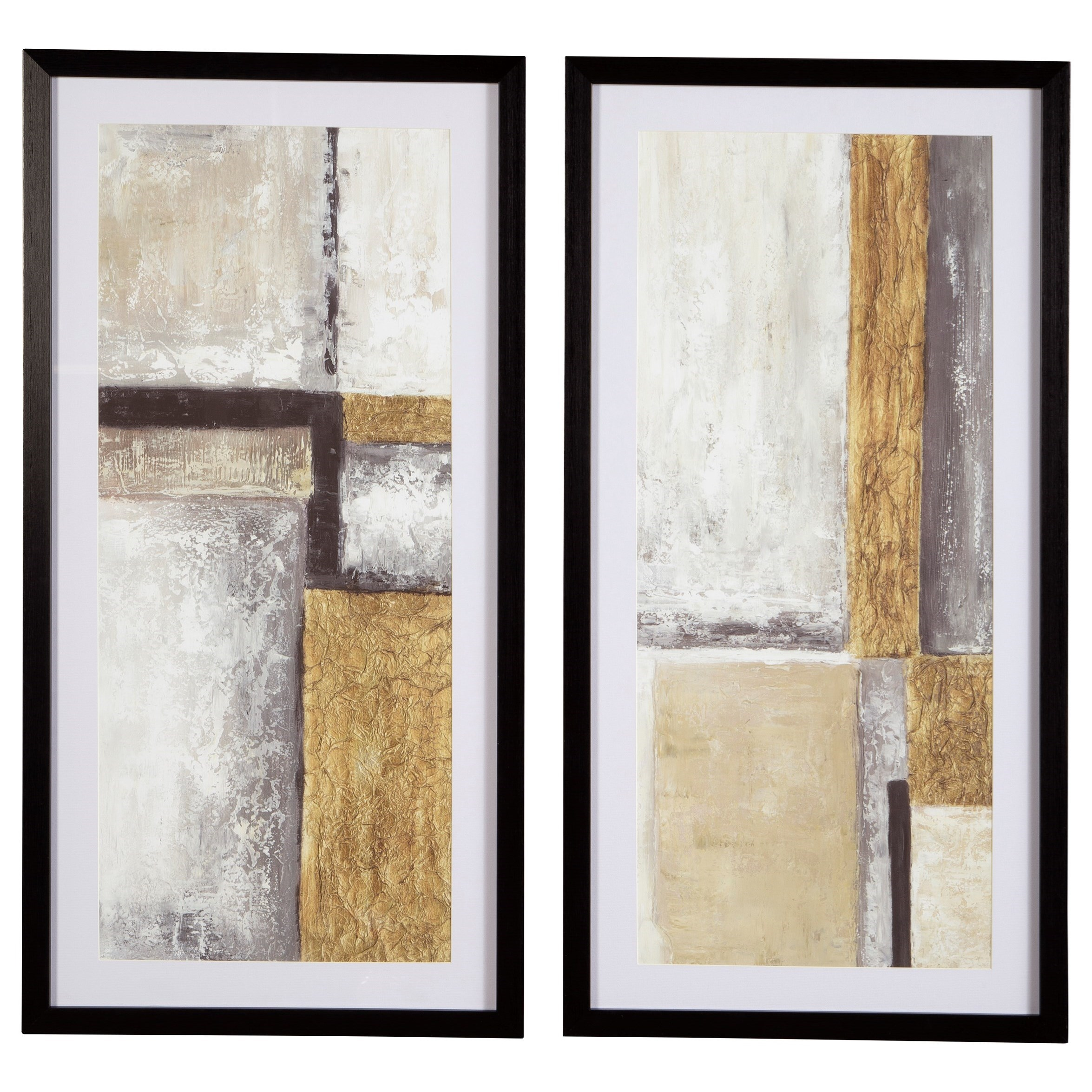 Wall Art Jaxley Wall Art Set by Signature Design by Ashley at Northeast Factory Direct