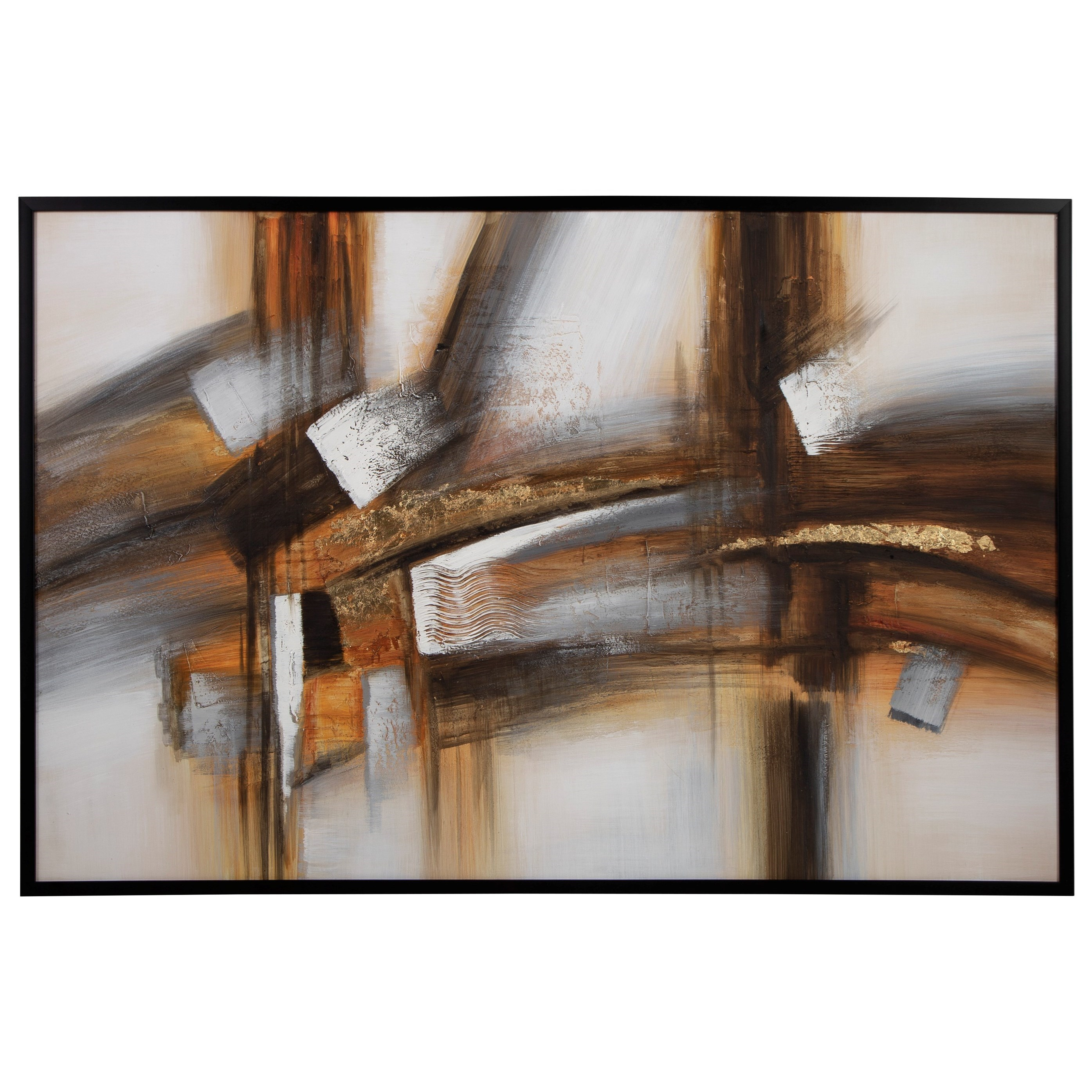 Wall Art Treynick Gray/Brown/Black Wall Art by Signature Design by Ashley at Northeast Factory Direct