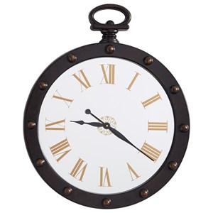 Signature Design by Ashley Wall Art Juan Brown Wall Clock