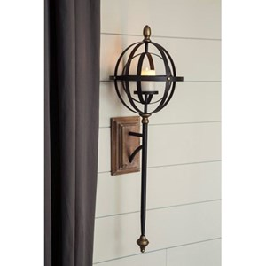 Signature Design by Ashley Wall Art Wall Sconce
