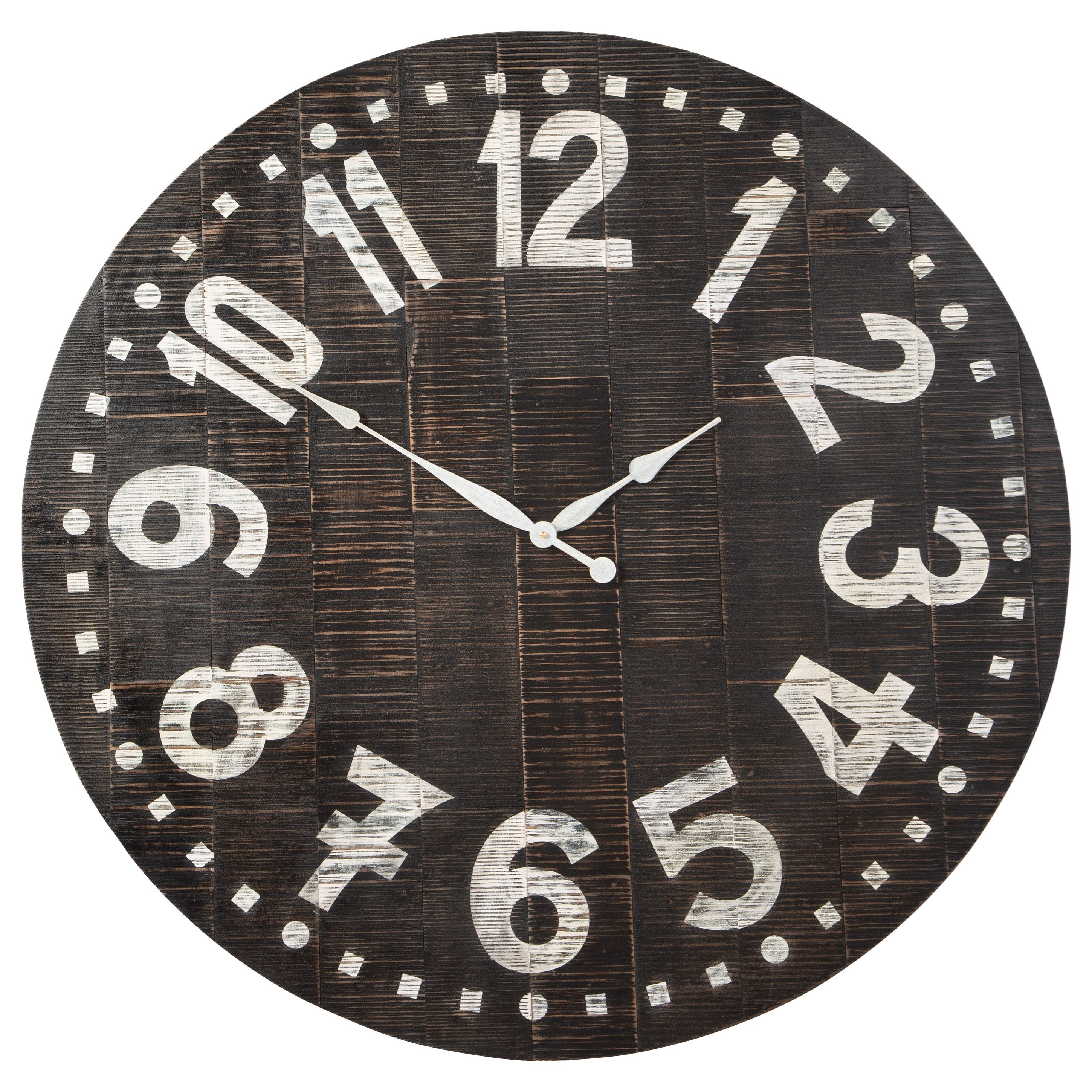 Brone Black/White Wall Clock