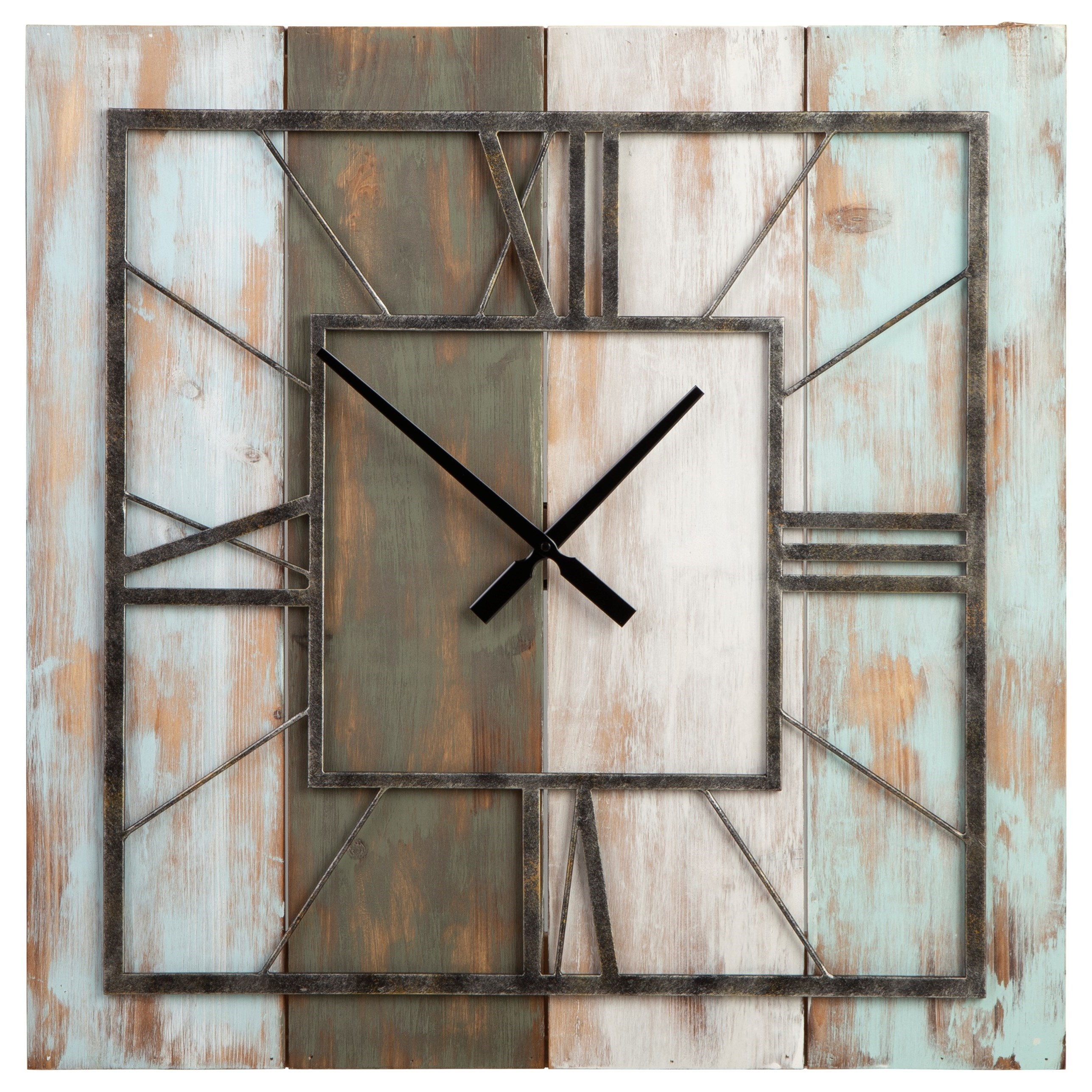 Wall Art Perdy Multi Wall Clock by Signature Design by Ashley at Northeast Factory Direct