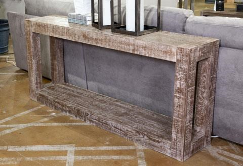 Waltleigh Sofa Table by Signature Design by Ashley at Sam Levitz Furniture