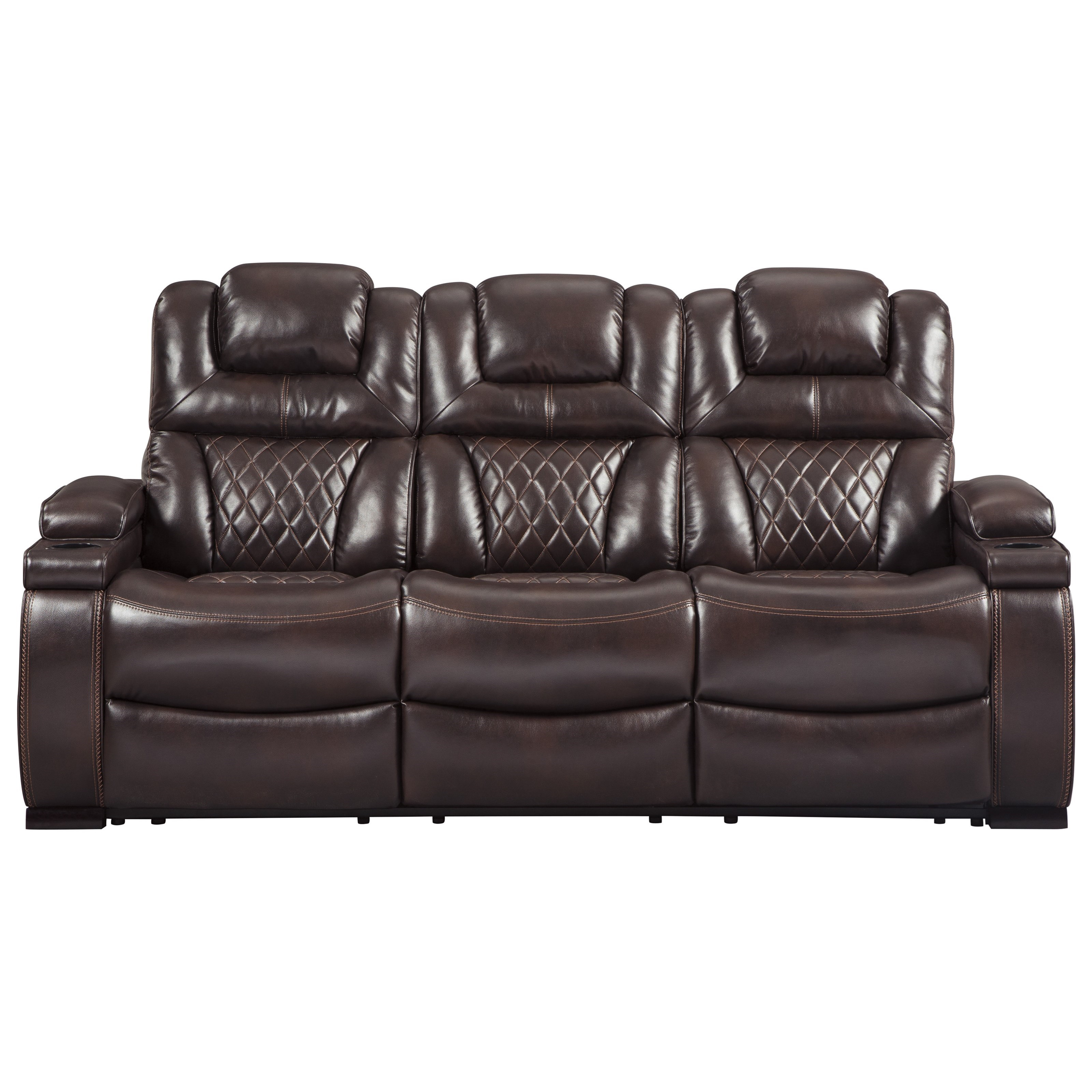 Warnerton Power Reclining Sofa by Signature Design by Ashley at Northeast Factory Direct