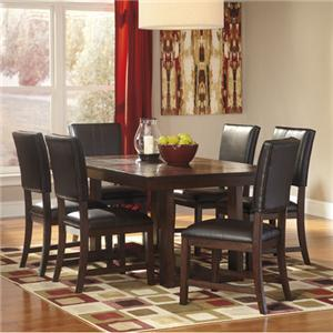Signature Design by Ashley Watson  7 Piece Dining Table Set