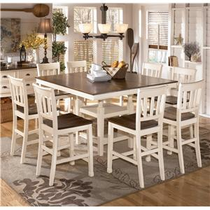 Ashley Signature Design Whitesburg Two Tone Dining Room