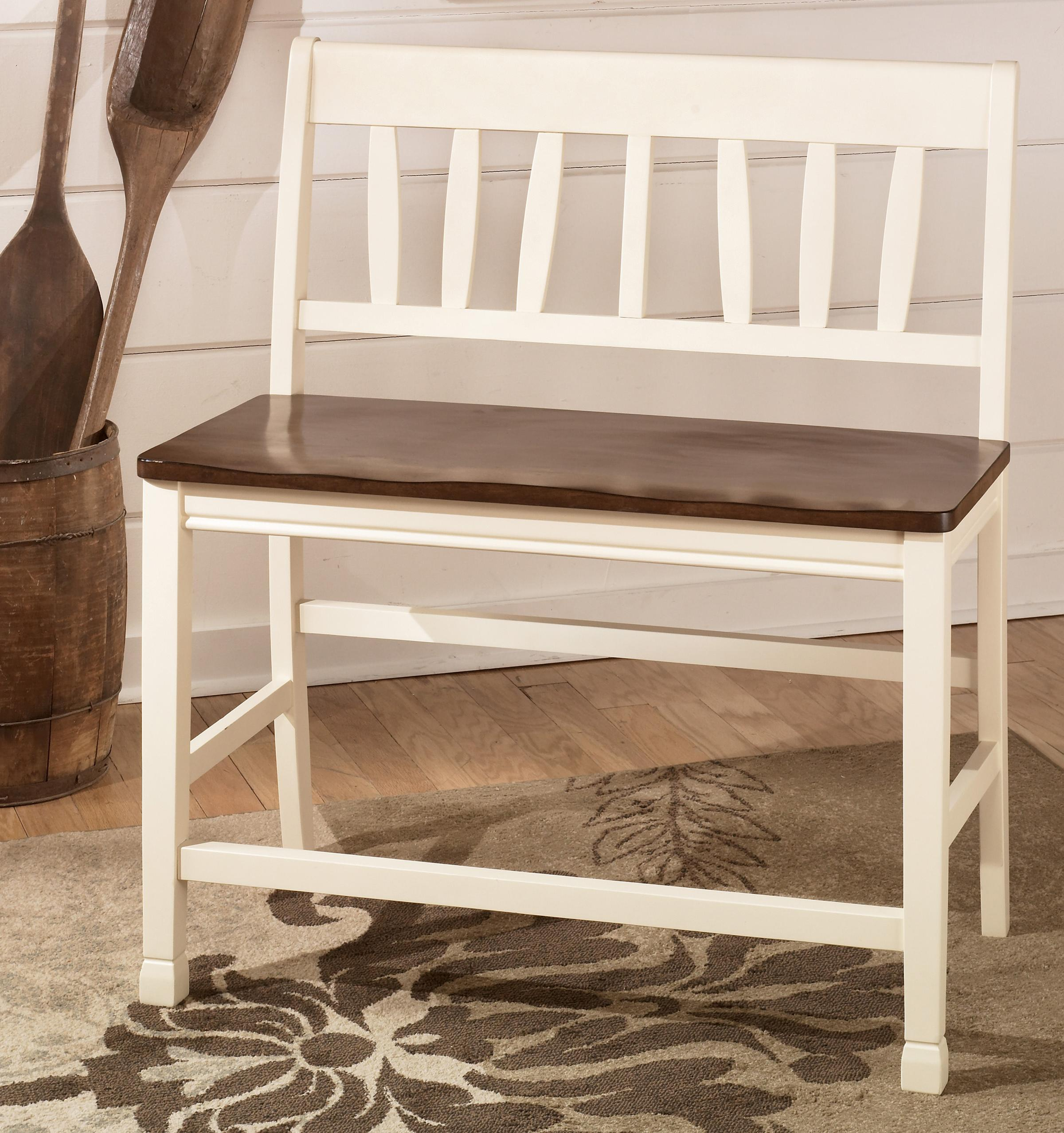 Whitesburg Double Barstool by Signature Design by Ashley at Coconis Furniture & Mattress 1st