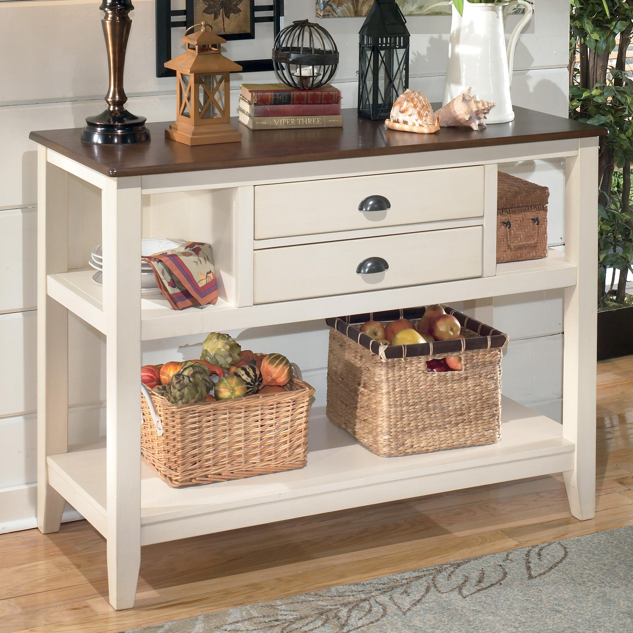 Whitesburg Dining Room Server by Signature Design at Fisher Home Furnishings