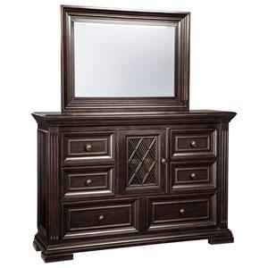 Signature Design by Ashley Willenburg Dresser & Bedroom Mirror