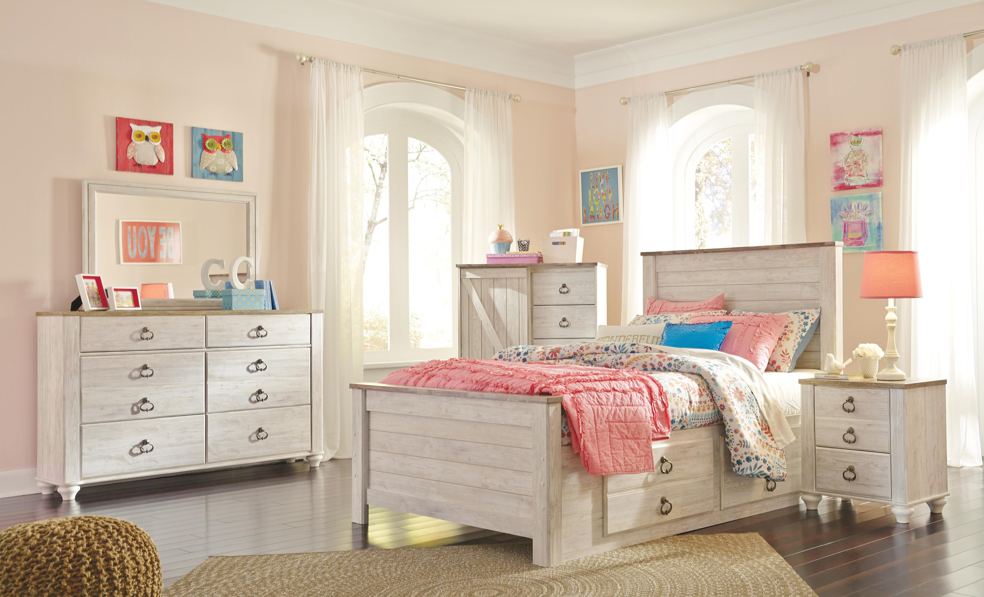 Full Storage Bed Package