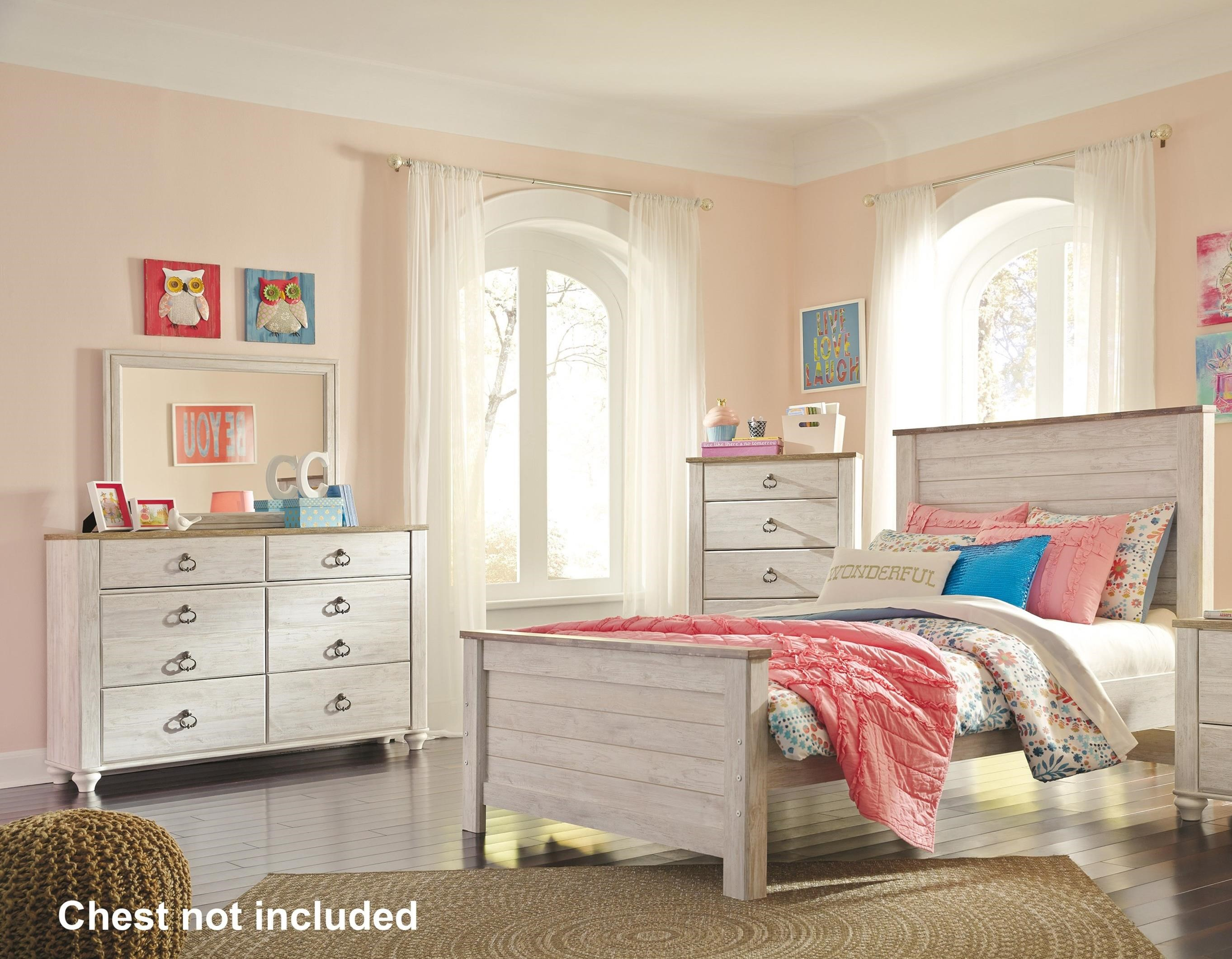 Willowton Full Bedroom Group by Signature Design by Ashley at Furniture Barn