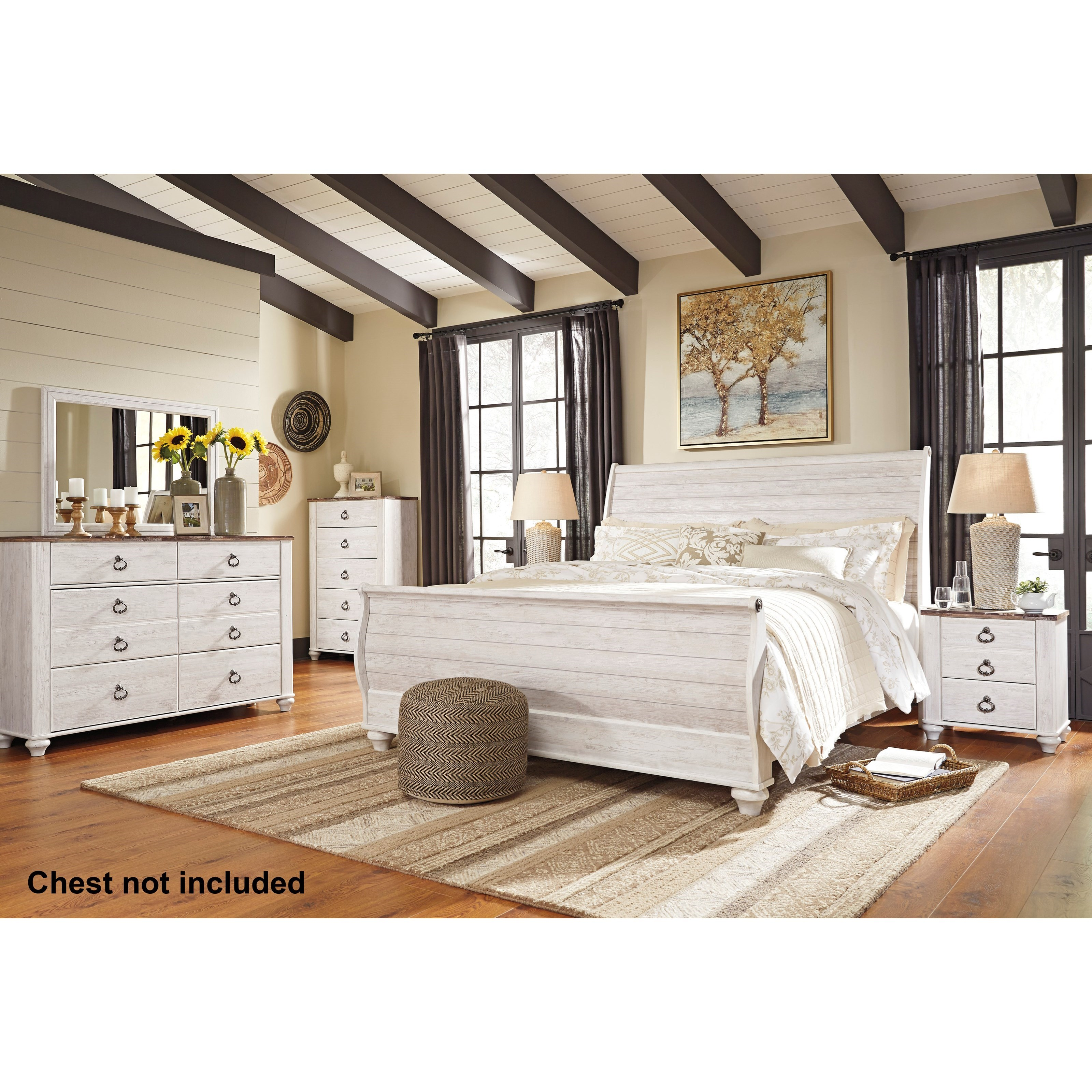 Willowton King Bedroom Group by Ashley (Signature Design) at Johnny Janosik