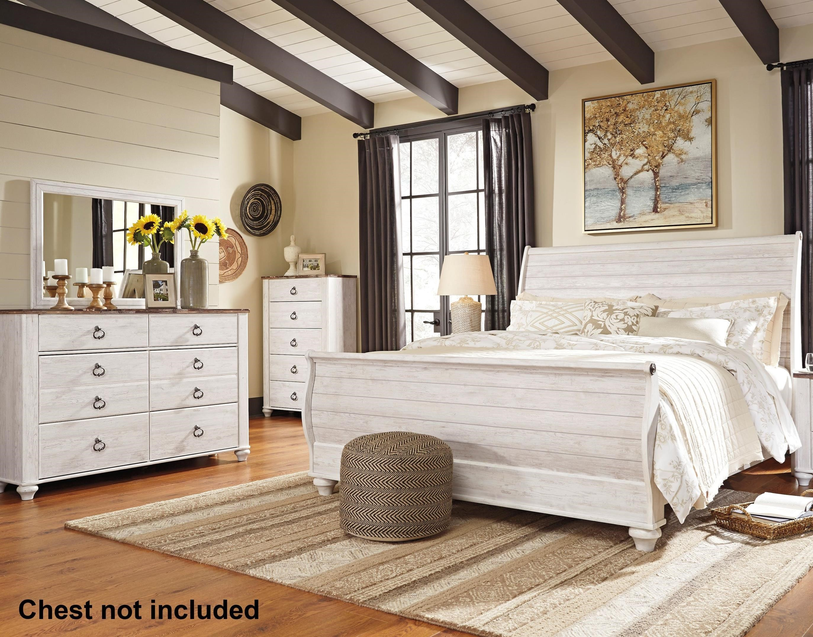 Willowton King Bedroom Group by Signature Design by Ashley at Northeast Factory Direct