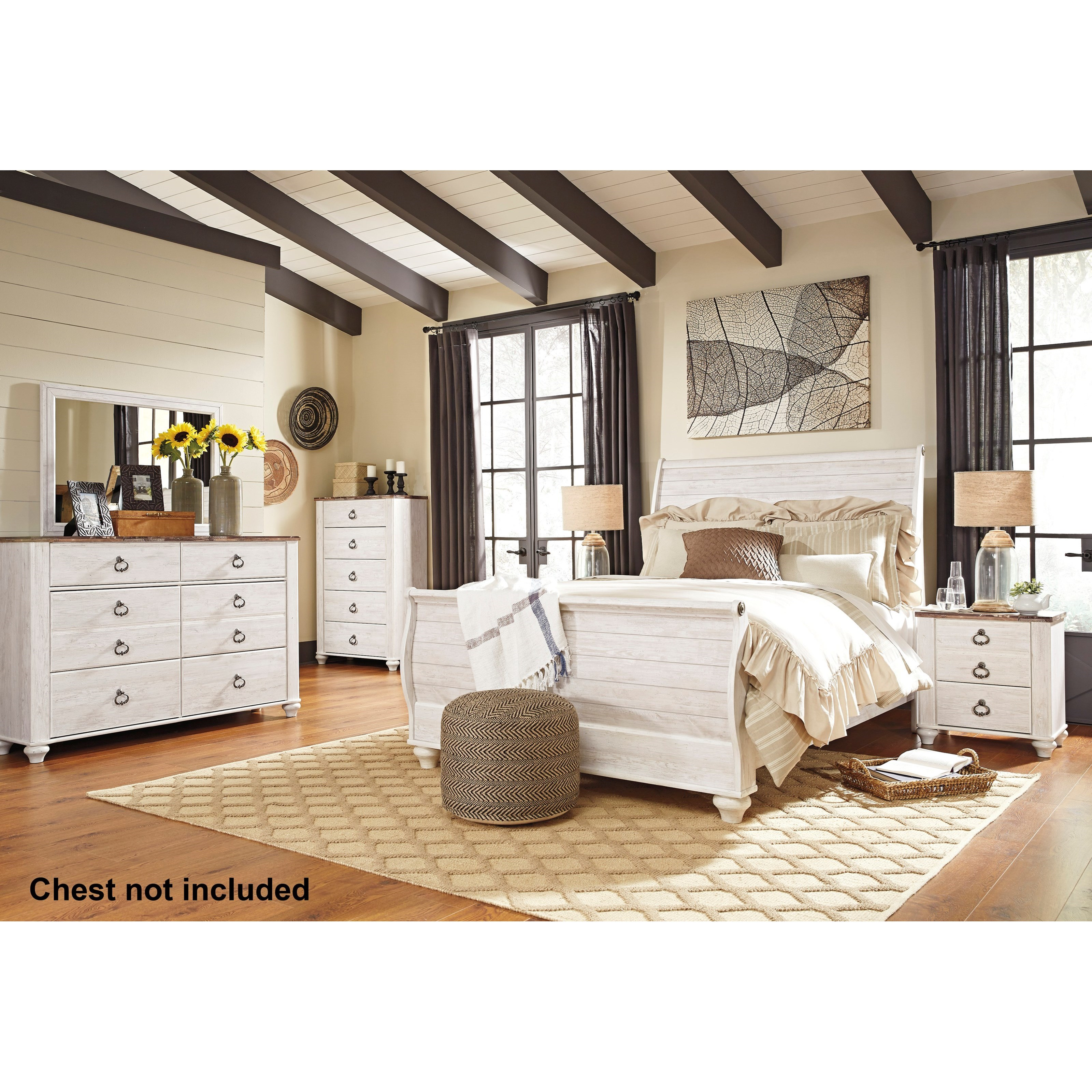 Willowton Queen Bedroom Group by Signature Design by Ashley at Northeast Factory Direct