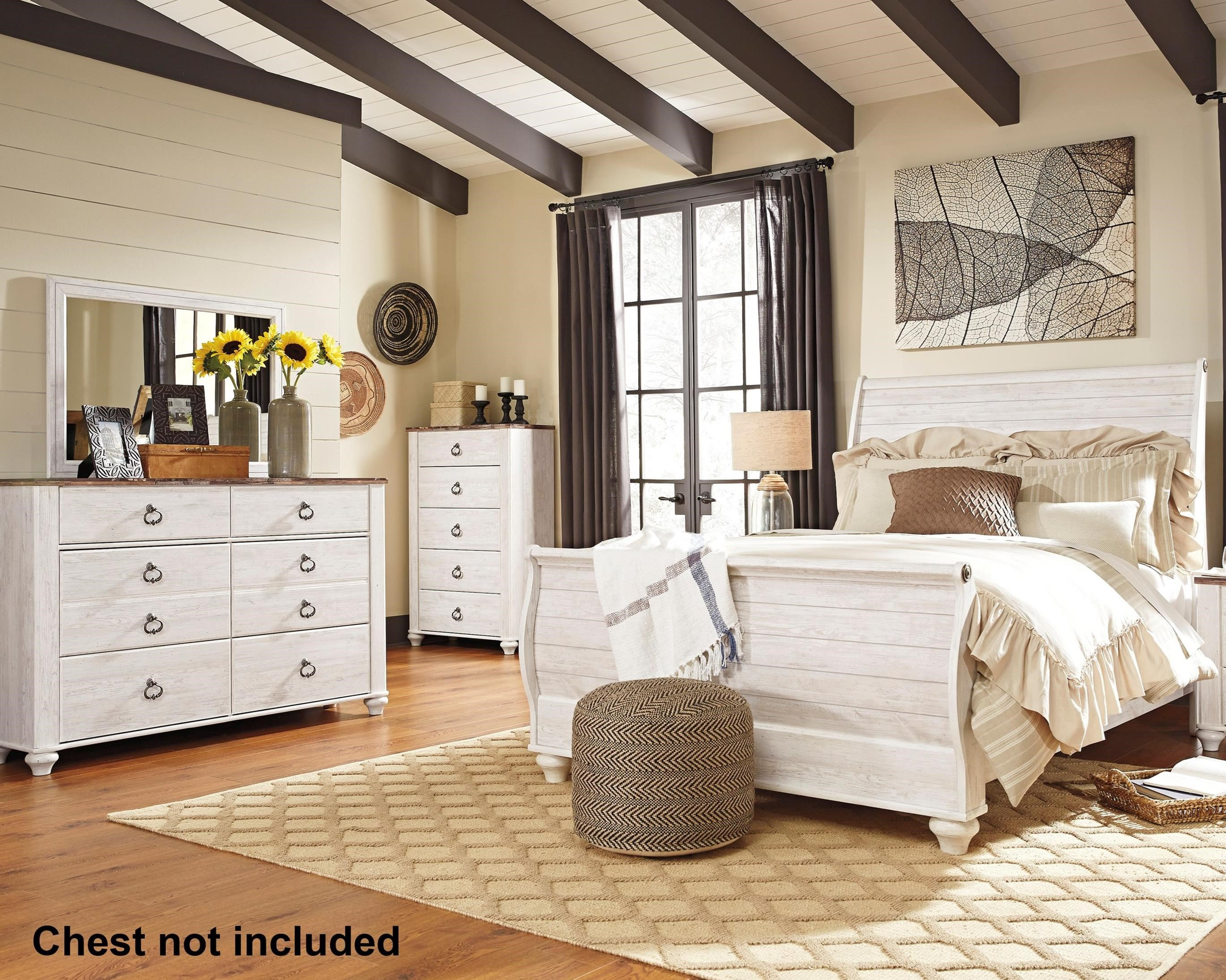 Willowton Queen Bedroom Group by Signature Design by Ashley at Furniture Barn