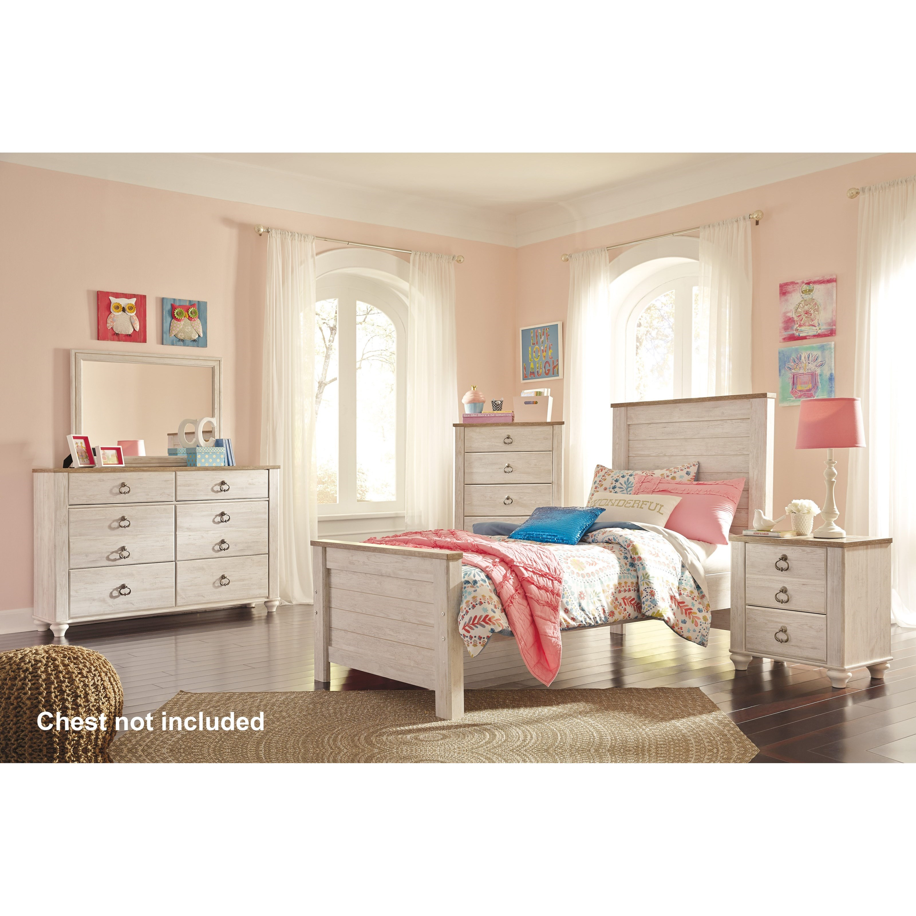 Willowton Twin Bedroom Group by Signature Design by Ashley at Sparks HomeStore