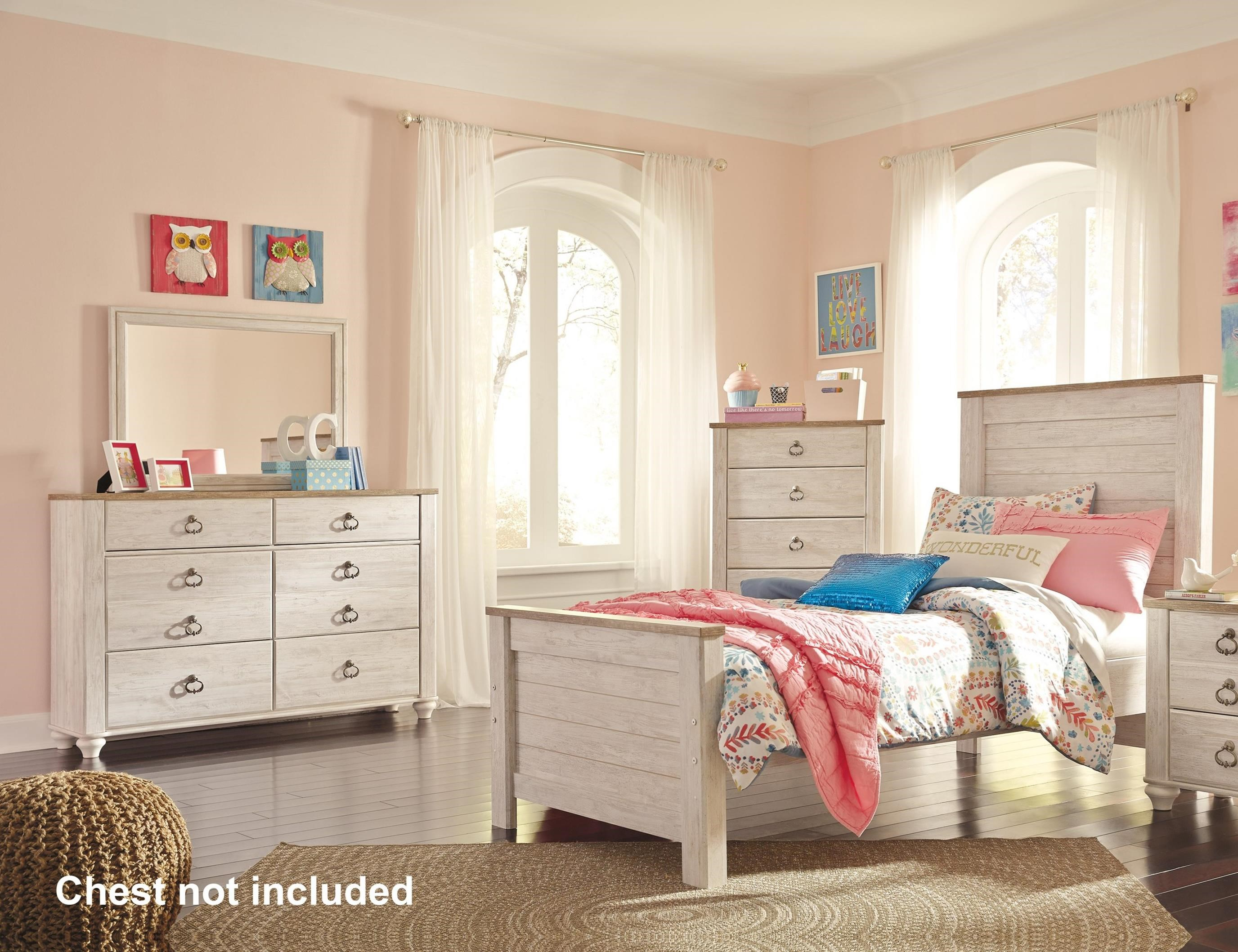 Willowton Twin Bedroom Group by Signature Design by Ashley at Darvin Furniture