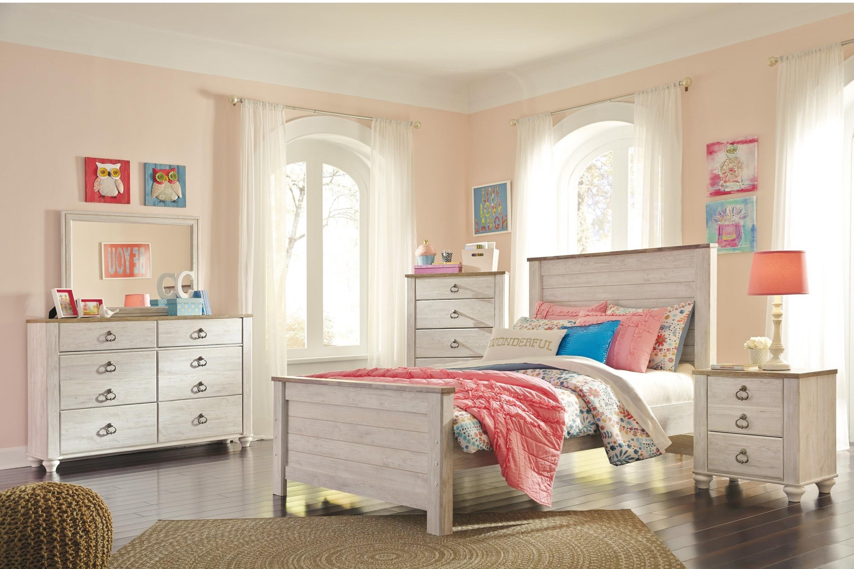 Twin 5 Piece Bedroom Group